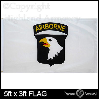 5' x 3' FLAG 101st Airborne United States Military USA