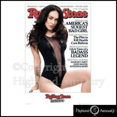 Rolling Stone Megan Fox Poster MAXI