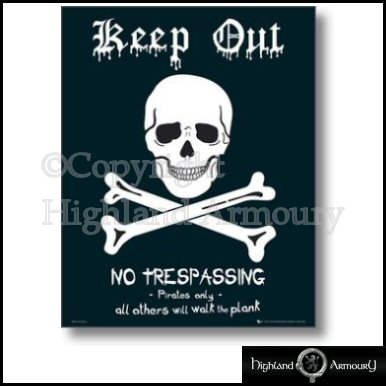keep out signs for bedrooms keep out pirates only walk