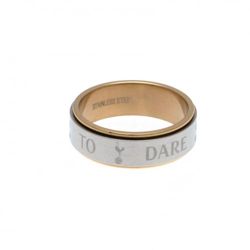 Tottenham Hotspur F.C. Bi Colour Spinner Ring X-Large