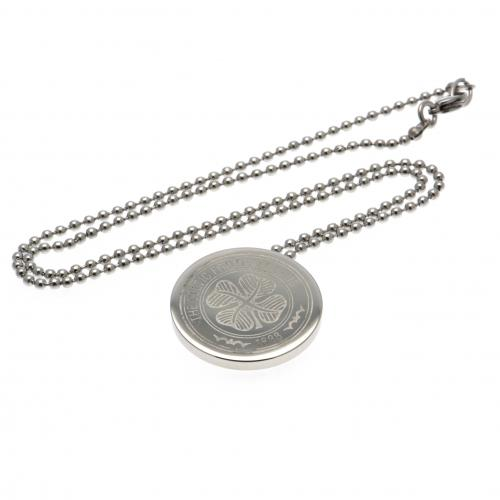 Celtic F.C. Stainless Steel Pendant & Chain