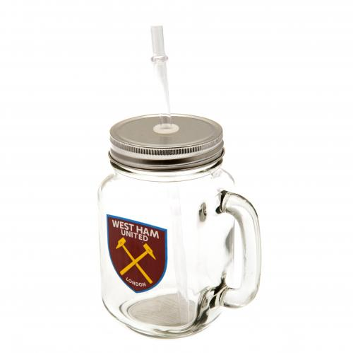 West Ham United F.C. Mason Jar