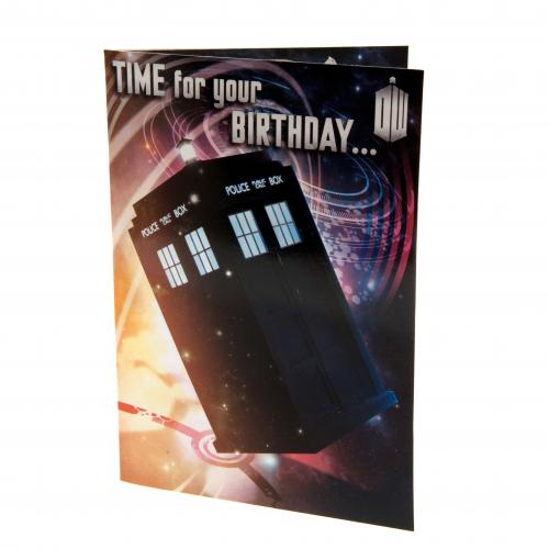 Doctor Who Birthday Sound Card